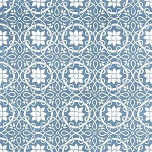 Chambray Tile VII Digital Print by Vision Studio,Decorative