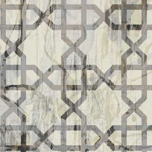 Neutral Metric V Digital Print by Goldberger, Jennifer,Abstract