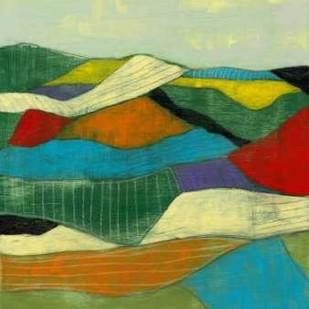 Patchwork Fields I Digital Print by Goldberger, Jennifer,Decorative