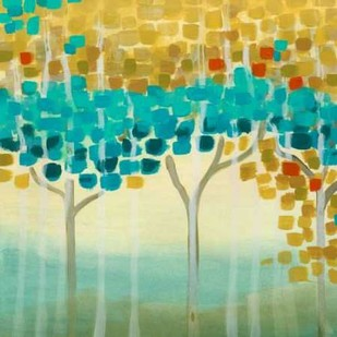 Forest Mosaic II Digital Print by Vess, June Erica,Abstract