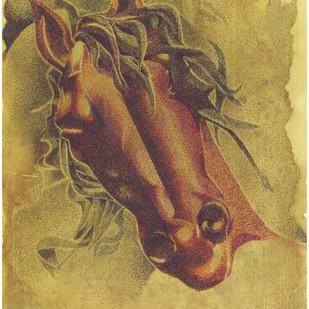 Horse Digital Print by SATHIYASEELAN GANGASALAM,Impressionism