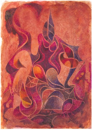 KUNTHI Digital Print by SATHIYASEELAN GANGASALAM,Abstract