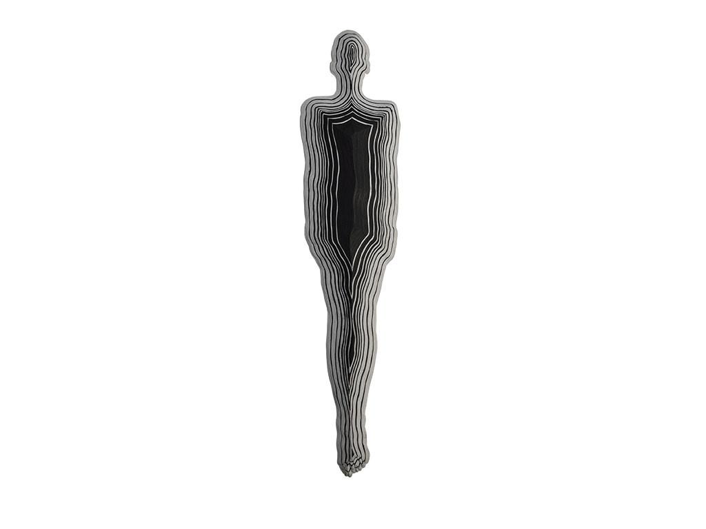 Nest by Janarthanan R, Conceptual Sculpture | 3D, Formed Paper, White color