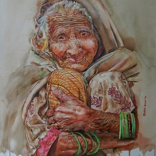 Undefined cuteness Digital Print by Uday Bhan,Realism, Realism