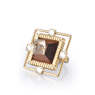 Crested Ring by Loupe , Contemporary Ring
