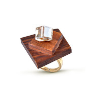Cubed Together Ring by Loupe , Contemporary Ring
