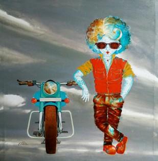The passion of childhood ii Digital Print by shiv kumar soni,Expressionism