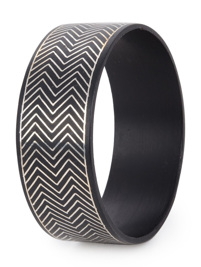Arrow Bangle by Bidriwala, Contemporary Bangle