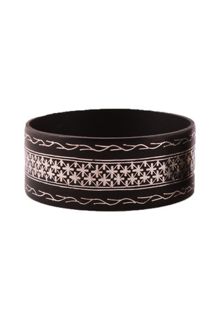 Fulzadi Bel Bangle by Bidriwala, Contemporary Bangle