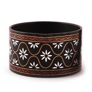 Mughal design Bidri Bangle Bangle By Bidriwala