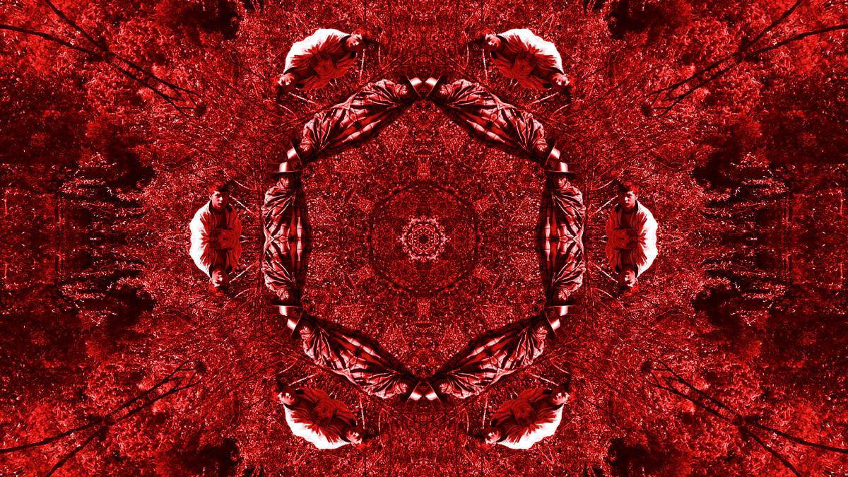 Flower of Blood and Toil by Pankaj Mullick, Digital Digital Art, Digital Print on Enhanced Matt, Red color