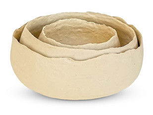 Paper Mache Bowl (Set of 3) Bowl By De Kulture Works