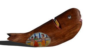 Abhigyan by krishna padiya, Conceptual Sculpture | 3D, Acrylic on Wood, White color