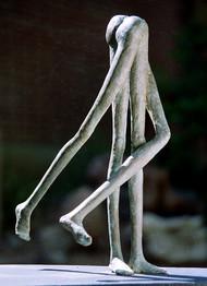 Force by krishna padiya, Conceptual Sculpture | 3D, Bronze, Gray color