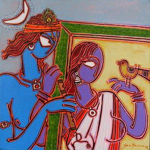 Ina frame 2 Digital Print by Santanu Nandan Dinda,Traditional