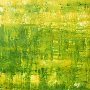 Abstract 44 by Santhosh CH, Abstract Painting, Acrylic on Canvas, Green color