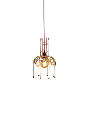 Peacock Lamp 02 Ceiling Lamp By Sahil & Sarthak