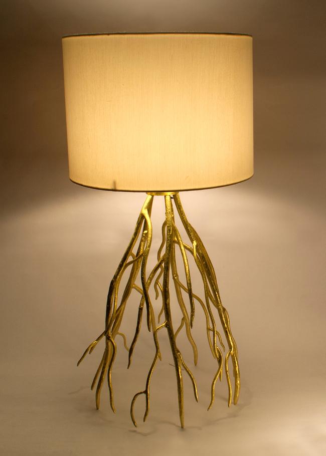 Root Table Lamp by Sahil & Sarthak Table Lamp By Sahil & Sarthak