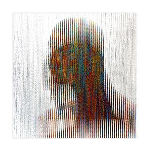 He 1 by Jayadev Biswal, Impressionism Digital Art, Digital Print on Archival Paper, White color