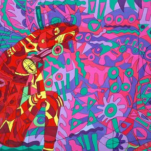 The Womb Digital Print by Amrit Khurana,Conceptual