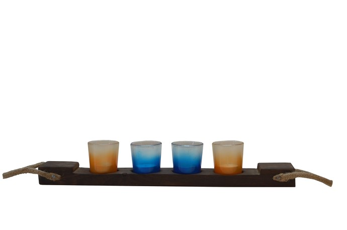 Shot Light on Fire - Candle Holder T-Light and Votive Holder By Desi Jugaad
