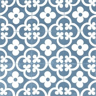 Chambray Tile I Digital Print by Vision Studio,Art Deco