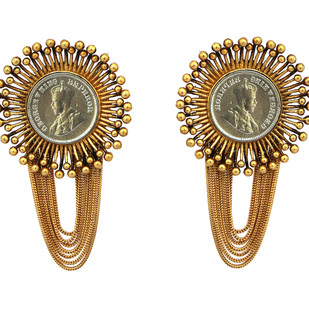 Mitti of Kutch Earring by Ambar Pariddi Sahai , Antique Earring