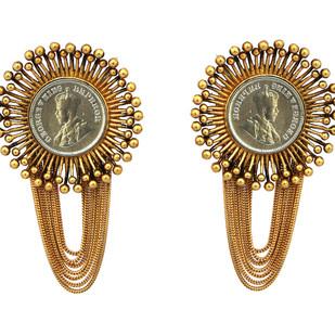 Mitti of Kutch Earring by Ambar Pariddi Sahai , Antique Earring