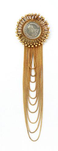 Mitti of kutch Brooch by Ambar Pariddi Sahai , Antique Brooch