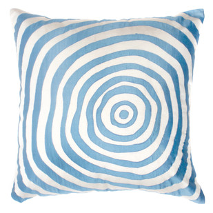 BLUE WAVES Cushion Cover By Monsoon and Beyond