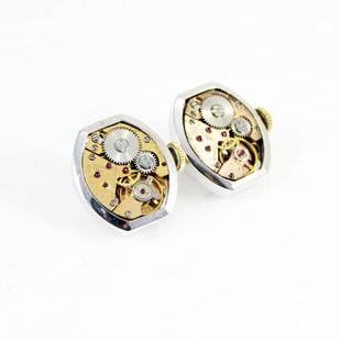 Gentlemen's cuff links #004 Button/Cufflink By Absynthe Design