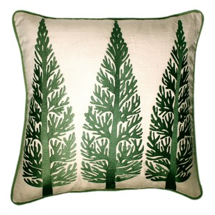KASHMIR AUTUMN TREES Cushion Cover By Monsoon and Beyond