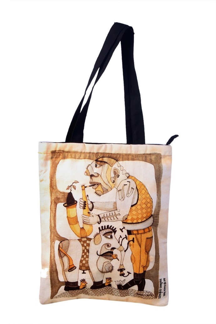 Tote Bag By Haren Vakil Bags By Indian Colours