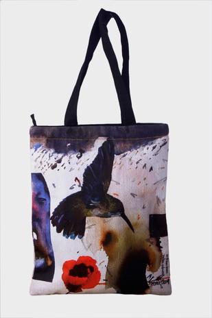 Samir Mondal Tote Bag Coaster Set By indian-colours