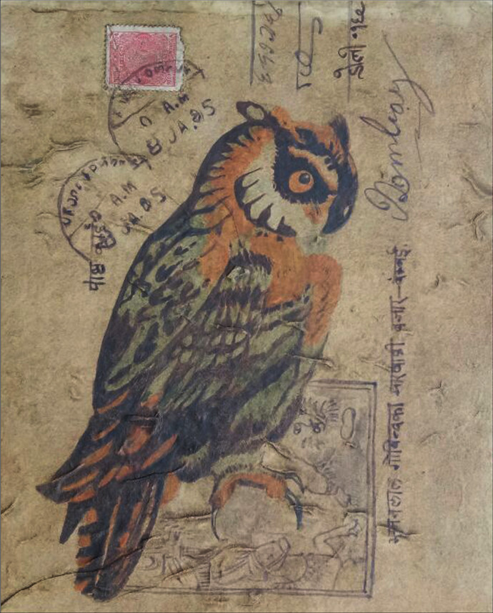 Owl 1 By Dolly Agarwal