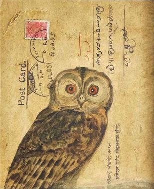 OWL 3 Artwork By DOLLY AGARWAL