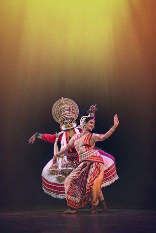 Dancer 01 by Jagjit Singh, Image Photography, Digital Print on Archival Paper, Brown color