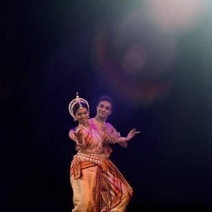 Dancer 02 by Jagjit Singh, Image Photography, Digital Print on Archival Paper, Blue color