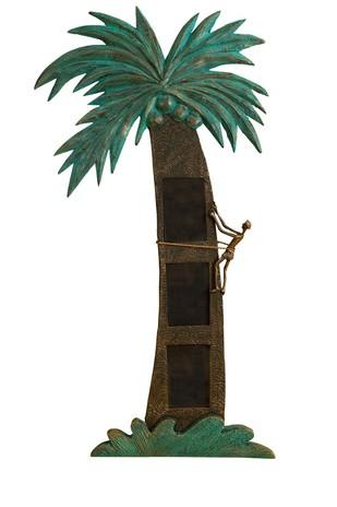 Coconut Tree Triple Wall Photoframe Photo Frame By THE ART SPA