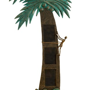 Coconut Tree Triple Wall Photoframe Photo Frame By THE ART SPA