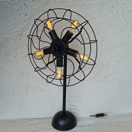 Cinq Industrial Flywheel Lamp Floor Lamp By The Black Steel