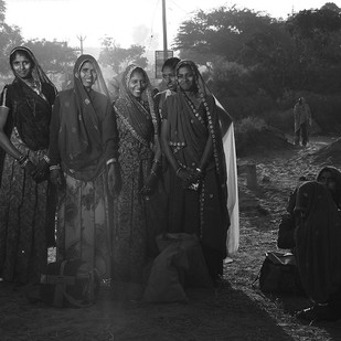 Pretty Women by Haran Kumar, Image Photography, Digital Print on Archival Paper, Gray color