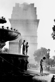 The Cooler Boys by Haran Kumar, Image Photography, Digital Print on Paper, Gray color