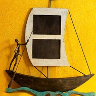 Boat wall photoframe