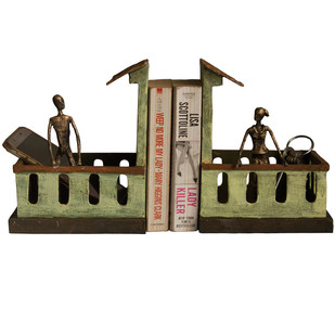 Balcony Bookend Book End By THE ART SPA