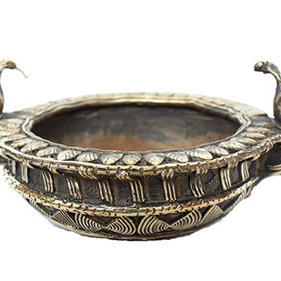 Snake bowl Decorative Container By Devrai Art Village