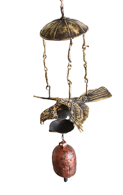 Eagle Bell Diya Ceiling decor Ceiling Lamp By Devrai Art Village