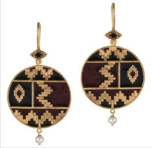 IKAT QUAD by ESA, Contemporary Earring