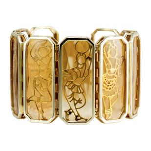 Maya Cuff by Nine Vice, Art Jewellery Bracelet