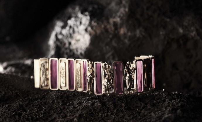 Mohana Cuff by Nine Vice, Art Jewellery Bracelet
